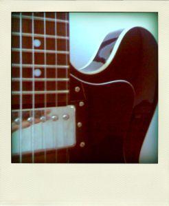 Cat's Eye electric guitar